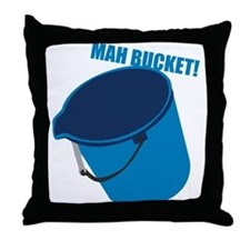 Mah Bucket Throw Pillow