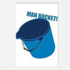 Mah Bucket Postcards (Package of 8)