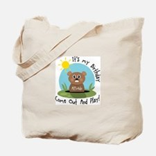 Alfredo birthday (groundhog) Tote Bag