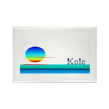 Kole Rectangle Magnet (10 pack)
