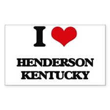 I love Henderson Kentucky Decal
