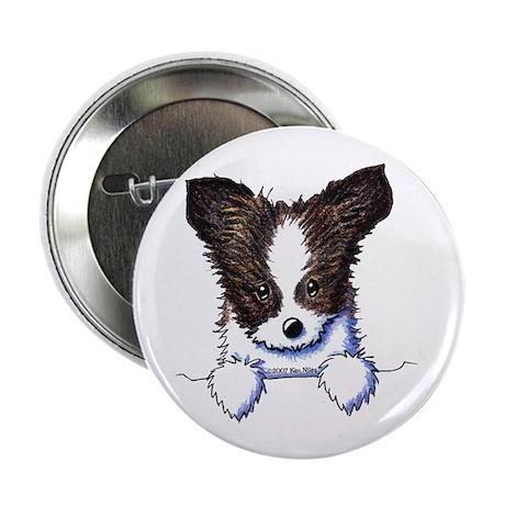 "Pkt Papillon Puppy 2.25"" Button (100 pack)"