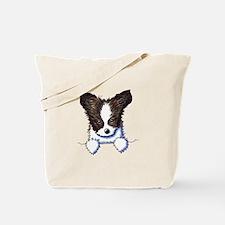 Pkt Papillon Puppy Tote Bag