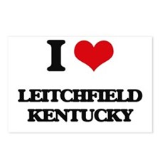 I love Leitchfield Kentuc Postcards (Package of 8)