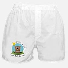 Maximus birthday (groundhog) Boxer Shorts