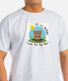 Matthew birthday (groundhog) T-Shirt