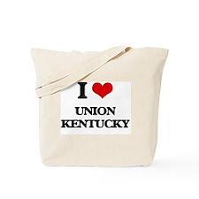 I love Union Kentucky Tote Bag