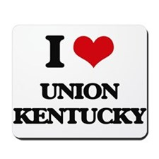 I love Union Kentucky Mousepad