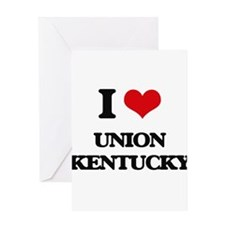 I love Union Kentucky Greeting Cards