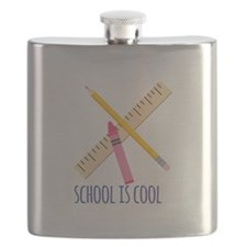 School Is Cool Flask