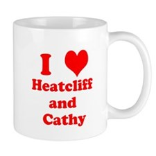 I heart Heathcliff and Cathy Mugs