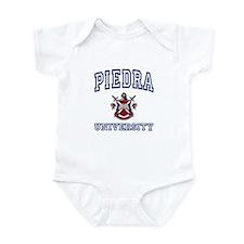 PIEDRA University Infant Bodysuit