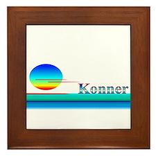 Konner Framed Tile