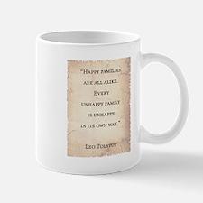 LEO TOLSTOY QUOTE Mug