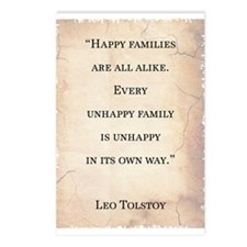 LEO TOLSTOY QUOTE Postcards (Package of 8)
