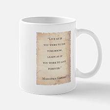MAHATMA GANDHI QUOTE Mug