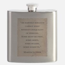 MARTIN LUTHER QUOTE Flask