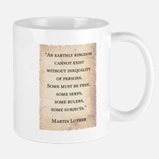 MARTIN LUTHER QUOTE Small Mugs