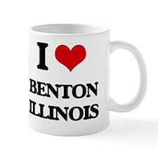 I love Benton Illinois Mug