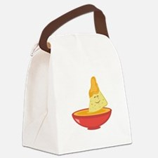 Chip & Dip Canvas Lunch Bag