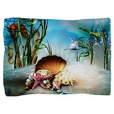 Underwater Sea Life Pillow Sham