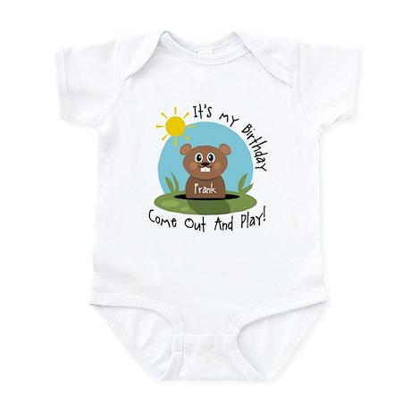 Frank birthday (groundhog) Infant Bodysuit