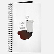 Coffee Is Lifeblood Journal