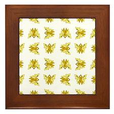 YELLOW RIBBON Framed Tile