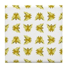 YELLOW RIBBON Tile Coaster