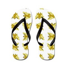 YELLOW RIBBON Flip Flops