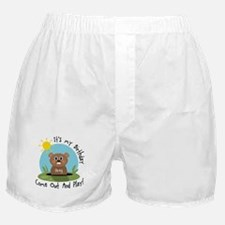 Greg birthday (groundhog) Boxer Shorts