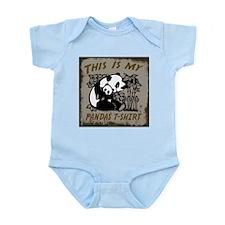 My Pandas T-Shirt Infant Bodysuit