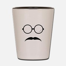 Glasses & Mustache Shot Glass