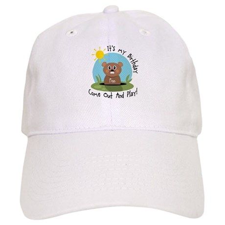 Finn birthday (groundhog) Cap