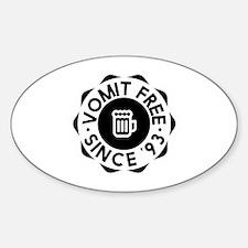 Vomit Free HIMYM Sticker (Oval)