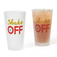 Shake it Off Drinking Glass