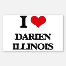 I love Darien Illinois Decal