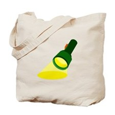 Flashlight Tote Bag