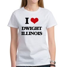 I love Dwight Illinois T-Shirt