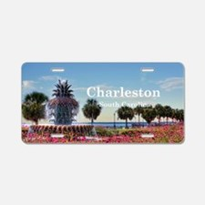 Charleston Aluminum License Plate