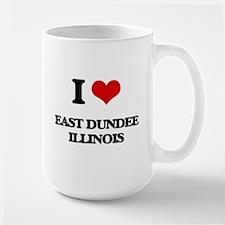 I love East Dundee Illinois Mugs