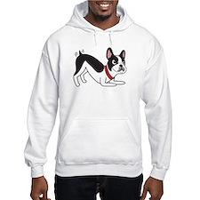 Happy Boston Terrier Hoodie