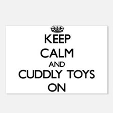 Keep Calm and Cuddly Toys Postcards (Package of 8)