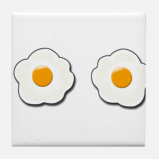 Fried Eggs Tile Coaster