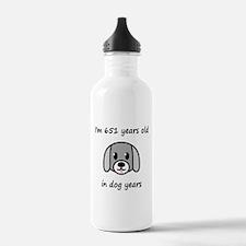 93 dog years 2 Water Bottle