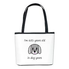 93 dog years 2 Bucket Bag