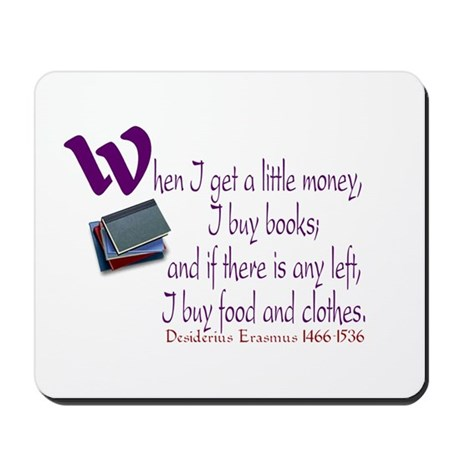 I Buy Books Mousepad