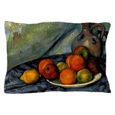 Cezanne - Fruit and Jug on a Table Pillow Case