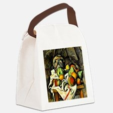 Cezanne - Ginger Jar and Fruit Canvas Lunch Bag