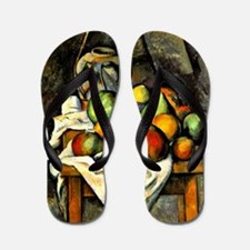 Cezanne - Ginger Jar and Fruit Flip Flops